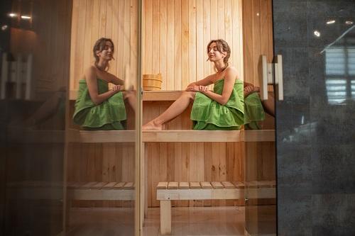 installation d'un sauna